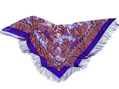 Luxury shawl A LA RUSSE