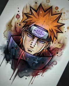 art pain do anime Naruto Anime Naruto, Naruto Shippuden Sasuke, Itachi, Manga Anime, Anime Hair, Boruto, Gaara, Naruto Drawings, Naruto Wallpaper