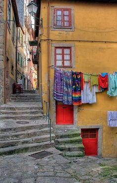 Streets of Porto Portugal