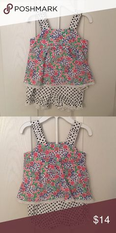 ❤️price drop❤️ First impressions 2 pc outfit 🌺 Perfect for spring very soft material never worn First Impressions Matching Sets
