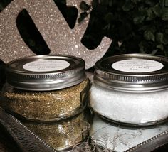 Sheer Frost German Glass Glitter is great for those putz house Christmas projects!  Sparkly and frosty! The Couture Collection!(TM)