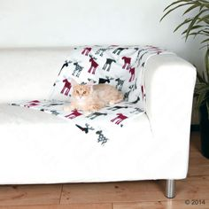 Potřeby pro psy a pro kočky výhodně u zoohit: Vánoční fleecová deka Elky