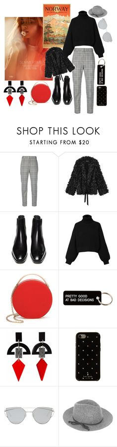 """""""oslo"""" by vinny1108 ❤ liked on Polyvore featuring Olsen, Alexander Wang, Diesel, Eddie Borgo, Various Projects, Toolally, Kate Spade, Gentle Monster, Accessorize and norway"""
