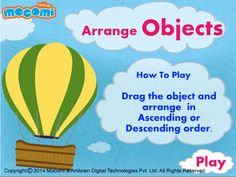 #AirBalloon - #Educationalgames for kids such as Air Balloon, helps you little one to learn how to differentiate between large and small objects. For more interacting #gameforkids, visit: http://mocomi.com/fun/games/