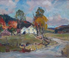 Emile Gruppe at the Bryan Memorial Gallery, Jeffersonville, VT