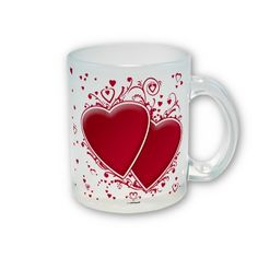 Two Red Hearts For Valentine's Day    *This design is available on t-shirts, hats, mugs, buttons, key chains and much more*