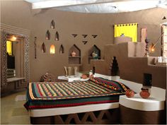 Rajasthani Mud Hut interior 5