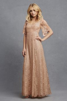 We call this lacy perfection. Bridesmaid Dress: Donna Morgan -  http://www.donna-morgan.com/donna-morgan-collection/view-all?utm_source=pinterest&utm_medium=smp&utm_campaign=julypinterestserenity_serenity8_madelineoyster