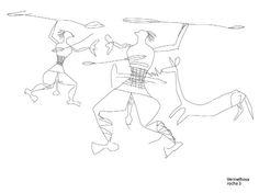 Rocha 3 da Vermelhosa, Gravuras rupestres datadas da Idade do Ferro, onde é possível observar guerreiros, armados com escudos circulares e lanças, constituindo a reprodução de cenas reais ou imaginárias, de carácter bélico, lúdico ou mitológico. Vale do Côa, Portugal