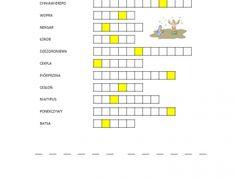 Manna i przepiórki - zeszyt - Biblia Dla Dzieci Crossword, Bible, Crossword Puzzles
