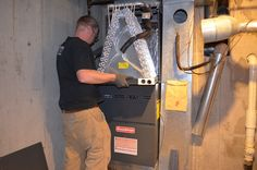 A two stage furnace has 2 separate firing rates with the lower one operating at about of the full rate. When your furnace kicks in it will start at the lower more efficient rate for 5 to 10 minutes. Furnace Replacement, Commercial Hvac, Water Heater Installation, Hvac Repair, Preventive Maintenance, Heating And Air Conditioning, Denver, Separate, Kicks