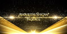 Awards Show Package — AE Template #golden #awards show • See it in action → https://videohive.net/item/awards-show-package/6625944?ref=pxcr