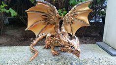 Spazierstock Arbeit benutzerdefinierte Dragon von MakoslaCreations