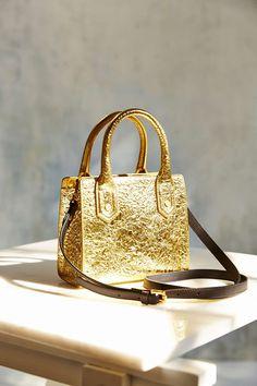 FLYNN Rupert Metallic Crossbody Bag Urban Outfitters, Kate Spade, Crossbody Bag, Metallic, Bags, Fashion, Handbags, Moda, Fashion Styles