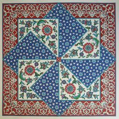 Ottoman design - made by Nesrin Yavuz - Istanbul Turkey