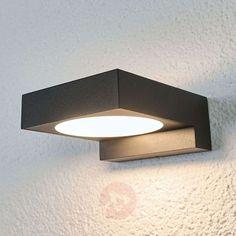 43€ | Natalja black LED bathroom wall lamp | Lights.ie