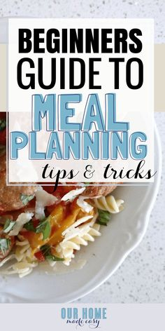 How to make dinner easier according to the best food bloggers find the best meal planning tips for beginners here includes free a free challenge and forumfinder Image collections