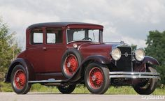 1928 Studebaker Series FB President State Victoria Coupe