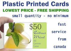Transparent plastic business cards small low quantity quantities plastic cards small low quantity quantities lowest price no minimum canada us usa reheart Image collections