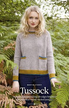 Pullover, Hair Inspiration, Ravelry, Knit Crochet, Knitting Patterns, How To Wear, Color, Women, Jumpers