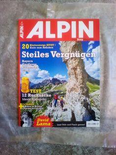 ALPIN!Das Berg Magazin!Ausg.:  4/14!NEU!
