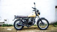 SINNIS Motorcycles - Trackstar 125 - Retro city motorcycle
