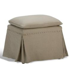 Draped Ottoman                          , Sarreid Ltd