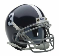 """Georgia Southern Eagles NCAA Mini Authentic Football Helmet From Schutt by Schutt. $32.95. Finely crafted miniature of actual game helmet. Complete interior pad set. Real wire faceguard. Approximately 1/2 scale of actual size. Officially Licensed Product. This Georgia Southern Eagles mini helmet is a finely crafted version of the actual NCAA competition helmets. It is approximately 4 1/2"""" x 5"""" in size. It has complete detail, including a realistic wire face mask. Schutt mini's..."""