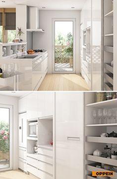 Upper cabinets in fa