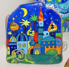 Mandagoras World: magic of the stone Pebble Painting, Pebble Art, Stone Painting, Rock Painting, House On The Rock, Driftwood Crafts, Pet Rocks, Rock Design, Hand Painted Rocks