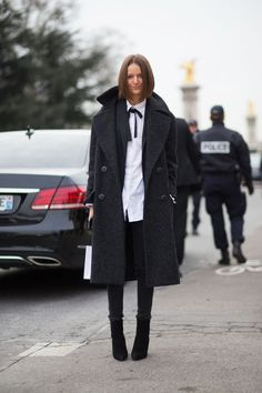 Street Style Haute Couture Spring 2015 -  Paris Fashion Week
