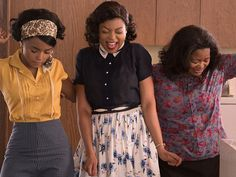 Taraji P. Henson, Octavia Spencer, and Janelle Monáe are the ultimate #SquadGoals in Hidden Figures