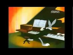 Bugs Bunny!! 2nd part.  Notice 1:29.  How many pianists have felt like that?