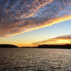#turku #sunset #lake #finland #beautiful #bestoftheday #tramonto #finlandia