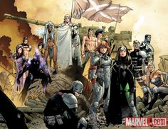 The X-Men of the Age of X (variant cover to X-Men: Age of X Alpha)