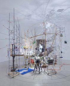 sarah sze: triple point (planetarium) - US pavilion at the 2013 venice art biennale | Work space, Art, Design