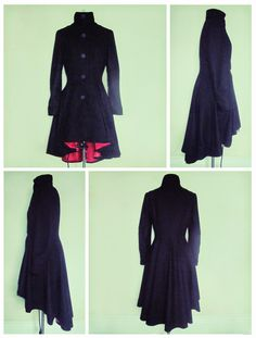 Fashion to DIY for: Pattern Review/Match - McCalls M6800 Alexander McQueen inspired coat
