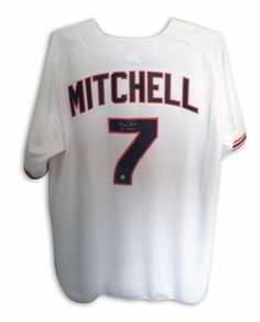 Kevin Mitchell San Francisco Giants Autographed White Jersey Inscribed