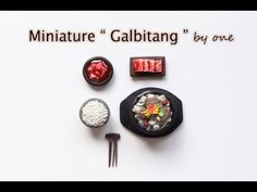 "폴리머 클레이 (피모) - "" 갈비탕 미니어쳐 "" 만들기 Polymerclay(fimo) - "" Short Rib Soup (Galbitang) "" Miniature - YouTube"