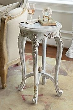 Chambourd Gueridon - Occasional Tables, Occasional Table Set, Scrollwork Occasional Tables | Soft Surroundings