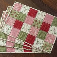 handmade patchwork placemats - Google Search