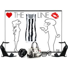 """""""THE LINE...."""" by ornellav on Polyvore"""