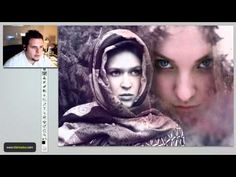 Merge Two Images Professionally in Photoshop - YouTube, interesting about 3/4 of the way through ( hue/ saturation)