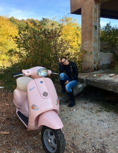 My Vespa pastel pink et2