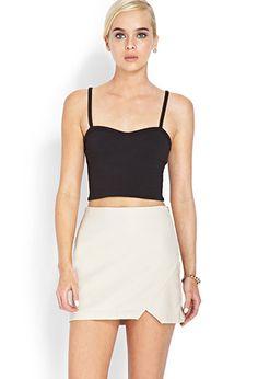 Pretty Tough Asymmetrical Skirt | FOREVER21 - 2000088777