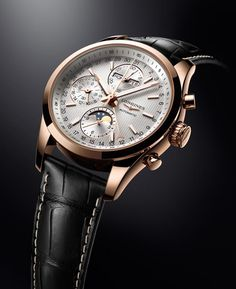 Longines Watch Gallery - LONGINES CONQUEST CLASSIC MOONPHASE by Longines