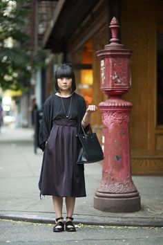 An Unknown Quantity   New York Fashion Street Style Blog