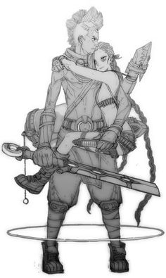 League of Legends. Jinx & Ekko ♥