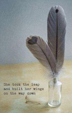she earned her wings