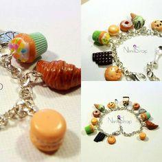 tiny food bracelet Tiny Food, Bracelet Watch, Bracelets, Sweet, Accessories, Candy, Bracelet, Arm Bracelets, Bangle